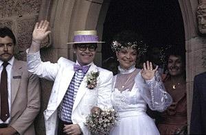 Elton John and Renate Blauel 's Wedding