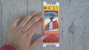 Kyle Walters Super Bowl Ticket