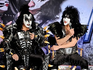 Kiss' Gene Simmons and Paul Stanley