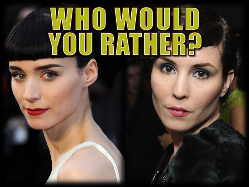 Noomi Rapace vs. Rooney Mara: Will the Real Girl With the Dragon ...