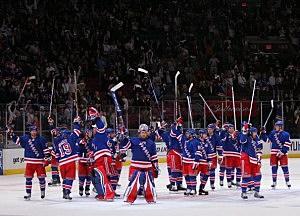 New Jersey Devils v New York Rangers - Game Four