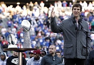 New York Giants Super Bowl XLVI Fan Celebration At Metlife Stadium
