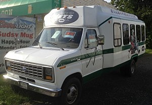 New York Jets van for sale