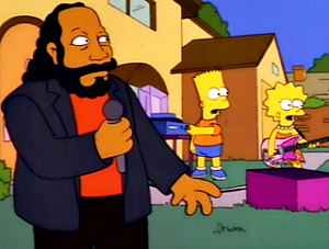 Barry White on The Simpsons