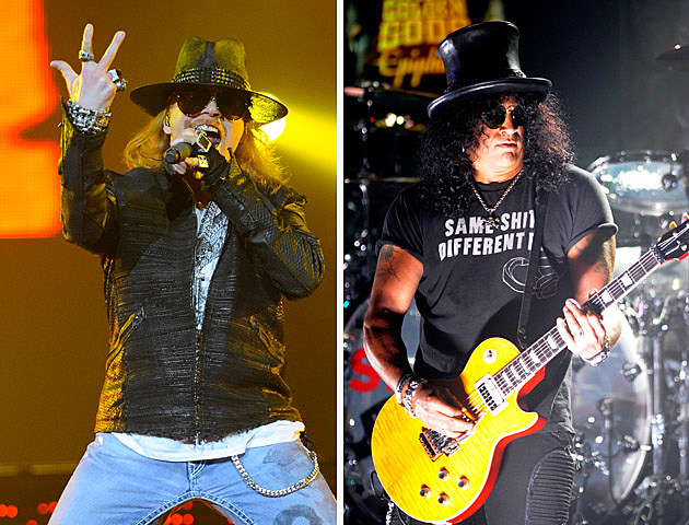 Axl vs Slash - Former Guns n Roses Members in the Metal Metdown