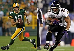 Aaron Rodgers/Ray Rice