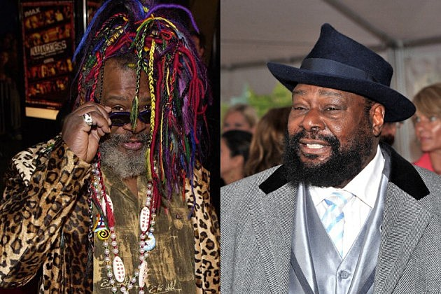 George Clinton's new look