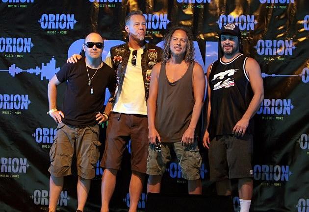 Metallica Couple Names their Child Orion