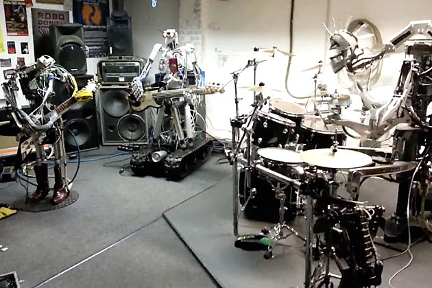 Robot Band Compressorhead