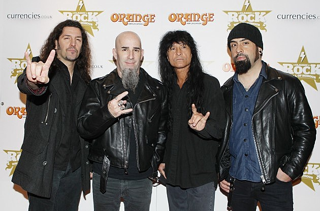 Anthrax Premiers the first single of their new LP 'Anthems'