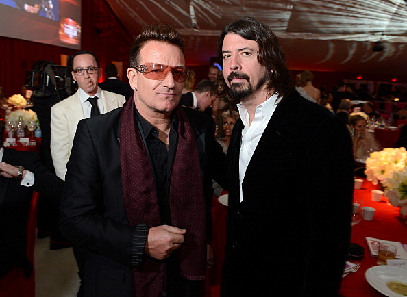 Bono, Dave Grohl