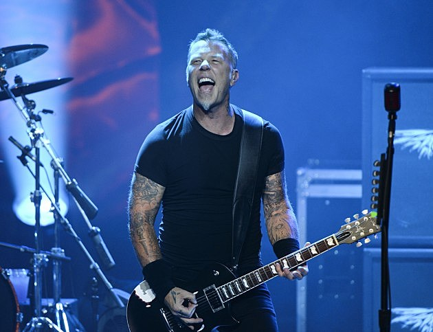 Metallica's James Hetfield Turns 50
