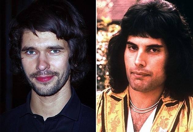 Ben Whishaw, Freddie Mercury