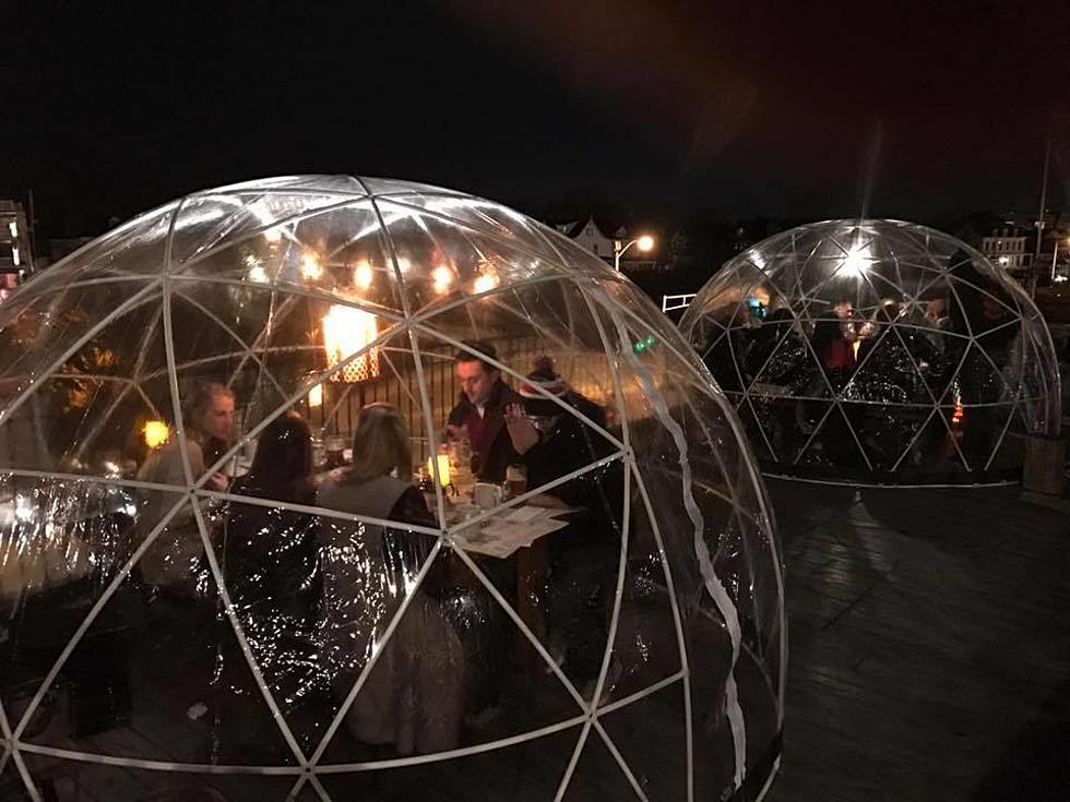 asbury festhalle biergarten opens rooftop igloos - Asbury Park Beer Garden