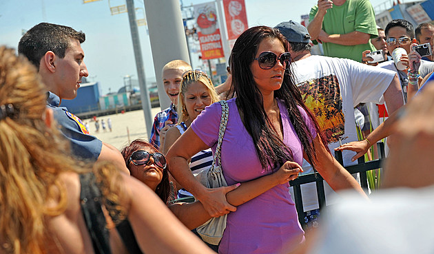 "Nicole ""Snooki"" Polizzi Arrested In Seaside Heights - July 30, 2010"