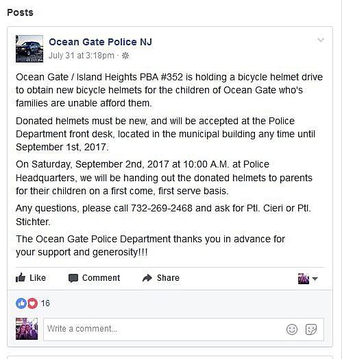 Ocean Gate PD Facebook
